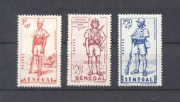 Sénégal - N° 170 à 172 Neufs * Avec Trace De Charnière - Sénégal (1887-1944)
