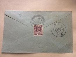 BURMA - George VI Cover 1942 Thonze Postmark - Birmanie (...-1947)