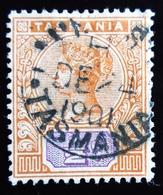 1892 Tasmania Yt 49 . Oblitéré 1901 - 1853-1912 Tasmania