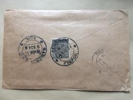 INDIA - George V Cover 1938 Air Mail Seinhaing To Rangoon - Inde (...-1947)