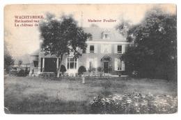 Wachtebeke Het Kasteel Van Le Chateau De Madame Poullier  1908 Hendrix 293 Rare Zeldzaam - Wachtebeke