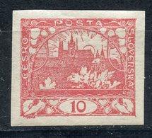 Y85 Czechoslovakia 1918 3 Prague Castle. Tex CESKO POSTA SLOVENSKÁ - Checoslovaquia