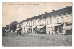 Wetteren Statieplaats Place De La Station  De Greave Et Fils 1913 - Wetteren