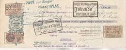 Lettre Change Illustrée 12/11/1926 Tissages St Isigny De Vers ROANNE Loire - Hanin Thuillier Joinville 52 - Lettres De Change