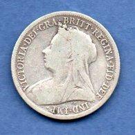 Grande Bretagne  - 1 Shilling 1899  -  Km # 780 - état TB - 1816-1901 : Frappes XIX° S.