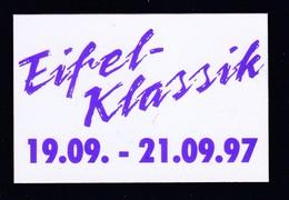 Aufkleber, Eifel-Klassik Nürburgring 1997, RARE ,look Scan !! 13.11-06 - Pins