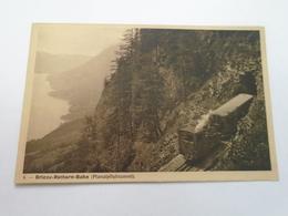 BRIENZ ROTHORN BAHN SWITZERLAND - RAILWAY - PLANALPFLUHTUNNEL - NOT TRAVELLED - Switzerland