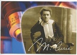 """Marie Curie """"on Ne Fait Jamais Attention à Ce Qui A été Fait, On Ne Voit Que Ce Qui Reste à Faire"""" (Institut) CP Neuve - Prix Nobel"""