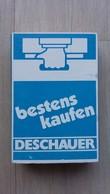 Zündholzschachtel  Aus Deutschland Mit Werbung Für Eine Supermarkt-Kette (DESCHAUER) - Zündholzschachteln