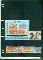 GHANA NOEL 77 6 VAL+ BF NEUFS A PARTIR DE 0.80 EUROS - Ghana (1957-...)