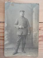 Cpa  Soldat Allemand 14-18 - Weltkrieg 1914-18