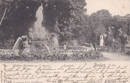Baden Bei Wien Undine Brunnen 1908 - Baden Bei Wien