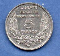 Bazor  -  5 Francs 1933  -  état  TTB+ - France