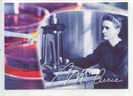 """Marie Curie """"Je Suis De Ceux Qui Pensent Que La Science A Une Grande Beauté"""" (Institut) CP Neuve - Salute"""