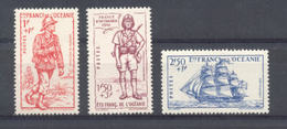 Océanie - N°135  à 137 Neufs * Avec Trace De Charnière - Océanie (Établissement De L') (1892-1958)