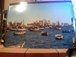 EGITTO EGYPT ALEXANDRIA OLD HARBOUR PORTO BARCHE N1960 HA7672 - Alexandria