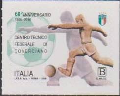 ITALY, 2018, MNH, FOOTBALL, SOCCER, FEDERAL TRAINING CENTRE OF COVERCIANO,, 1v - Soccer
