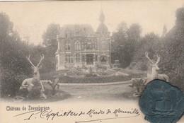 "St-André-lez-Bruges ,  Château De "" Zevenbergen "",  , Met Stempel Van Ringzegel Kasteelheer - Brugge"