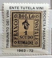 FRANCOBOLLO DELLE ROMAGNE SOCIETA' DEL PASSATORE     ERINNOFILO - Francobolli