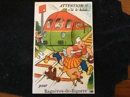 Bagneres De Bigorre Carte A Système N109 - Bagneres De Bigorre