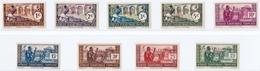 Afrique équatoriale Française, 1940-41, Héliogravés (Yvert 92 Au 100). - Unused Stamps