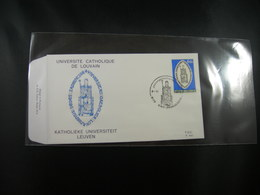 """BELG.1975 1783 FDC ST AMANDSBERG :  """"Universiteit Van Leuven- Université De Leuven"""" - FDC"""