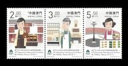 Macao 2018 Mih. 2171/73 Street Vendors MNH ** - 1999-... Chinese Admnistrative Region