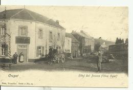CRUPET   Hôtel Dol Besace (chez Colot)( écriture Encore Visible Sur Le Devant.) - Assesse