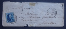 BELGIE     Nr. 11 A  Op Briefdeel   Stempel  Camp De Beverloo   - Zie Foto's - Entiers Postaux