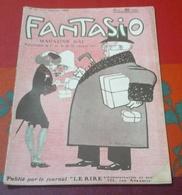 Revue Satirique FANTASIO N°11 Janvier 1907 Réjane,Aymienne De Mirecour,Henriette Roggers,Anna Deslions - 1900 - 1949