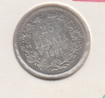 @Y@   FINLAND   25  Pennia 1901  Zilver / Ag     (2738) - Finnland