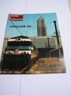 Vie Du Rail 1972 1364 FOUGERES SOSPEL P&O CIWL MALLE DES INDES PENINSULAR And ORIENTAL STEAM NAVIGATION - Treni