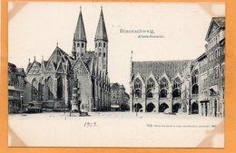 Braunschweig Germany 1900 Postcard - Braunschweig