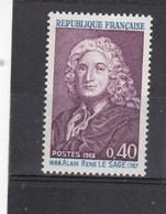 1968 - YT N°1558** - Alain René Lesage - France