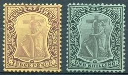 Montserrat - 1908/1909 - Yt 35 Et 37 - Série Courante - * Charnière - Montserrat