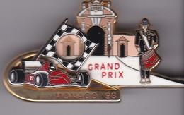 Pin's GRAND PRIX DE MONACO F1 93  LB CREATIONS N° 084 / 350 - F1