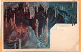 Hermannshohle Rubeland Germany 1900 Postcard - Germany
