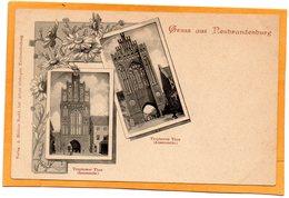Gruss Aus Neubrandenburg Germany 1900 Postcard - Neubrandenburg