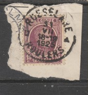 COB 195 Oblitération Centrale ROESELARE Dispersion D'un Ensemble Houyoux Oblitérations Concours - 1922-1927 Houyoux