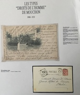 1900 Mouchon N°124 Carte Postale 10c Oblitéré De Mustapha/ Alger En Algérie Pour L'Italie - 1900-02 Mouchon