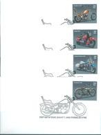 USA - 7.8.2006 - FDC - MOTORCYCLES HARLEY CHOPPER - Yv 3862-3865 Mi 4157-4160 Sc 4085-4088 - Lot 19000 - Ersttagsbelege (FDC)