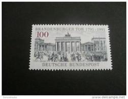 DE161- Stamp MNh Germany -1991- SC. 1622- Brandenburg Gate - [7] République Fédérale