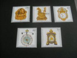 De228-  Set MNh Germnay -1992- SC. B734-748-   Antique Clocks - [7] République Fédérale