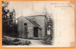 Gruss Von  Goethehauschen Ilmeanu Germany 1900 Postcard - Ilmenau
