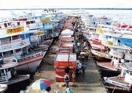 1 AK Brasilien * Schiffe Im Hafen Von Manaus * - Manaus