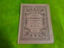Album Alphabets Varies N. Alexandre -broderies N°232 12x16 Cm Environ - Loisirs Créatifs