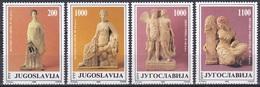 Jugoslawien Jugoslavia 1988 Kunst Arts Kultur Culture Terrakotta Terracotta Figuren Figures Josip Tito, Mi. 2307-0 ** - Neufs
