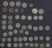 LOT FRANCS SUISSE Env. 51 Pieces SCHWEIZ CONFOEDERATIO HELVETICA ARGENT SILVER SILBER 0,20 1f 0,02 0,01 0,50 0,10 0,05 - Schweiz