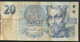 °°° CZECH REPUBLIC - 20 KORUN 1994 °°° - Repubblica Ceca