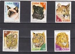 Cuba Nº 2033 Al 2036 Y A267 Al A268 - Cuba